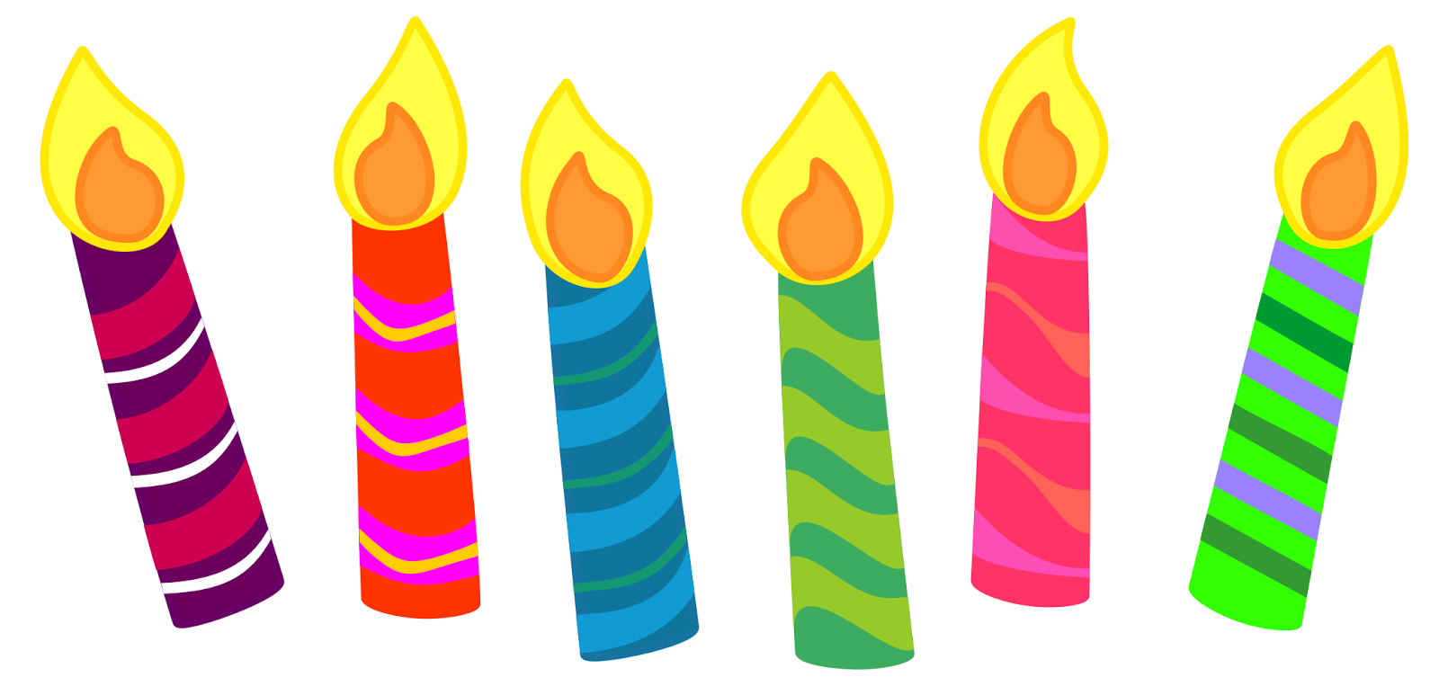 candles clipart free large images [ 1600 x 773 Pixel ]