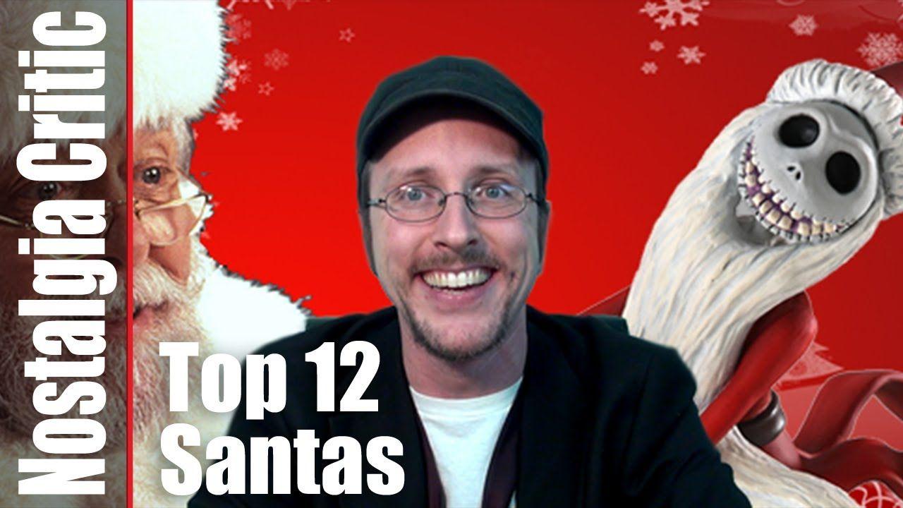 12 Best Santa Clauses - Nostalgia Critic | CHRISTMAS 1 | Pinterest ...