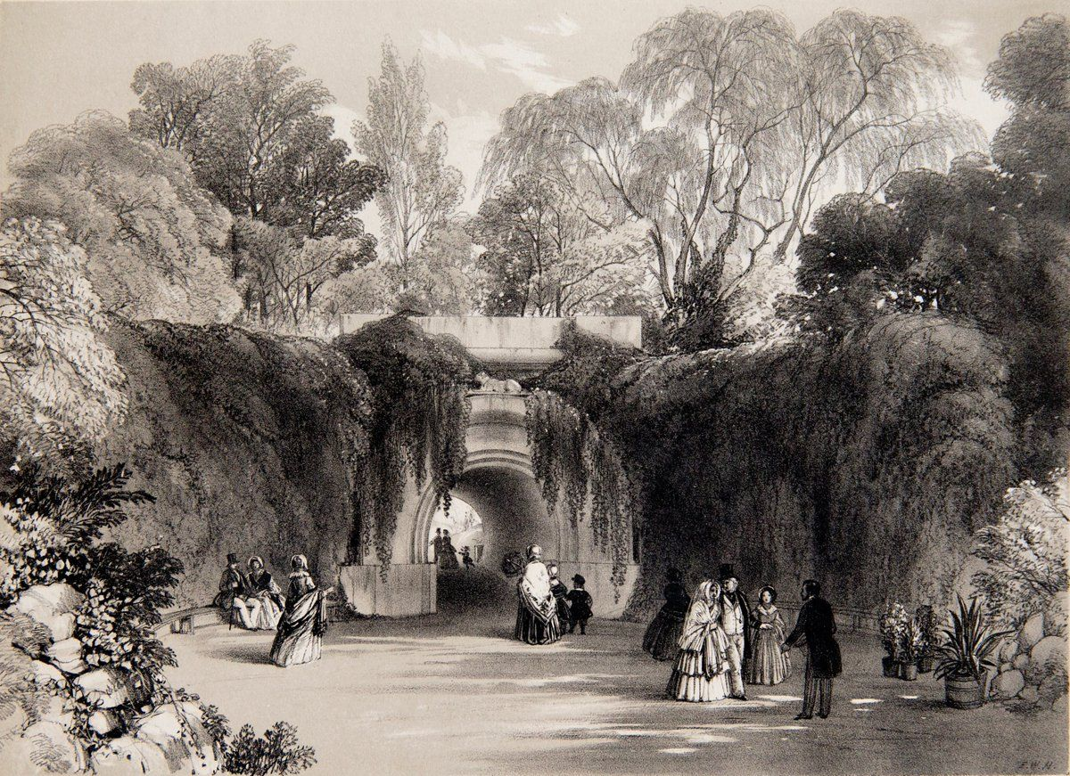 """ZSL Arts & Culture on Twitter: """"These images of London Zoo were drawn c.1848 by Frederick Hulme. If you visit the Zoo today you can still spot these two listed buildings! https://t.co/y3EwJVbrJ2"""""""