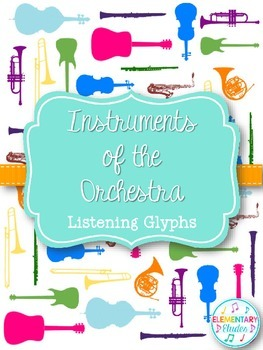 instruments of the orchestra listening glyphs orchestra instruments and music class. Black Bedroom Furniture Sets. Home Design Ideas