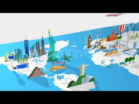 Travel world map motion graphics youtube motiongraphics travel world map motion graphics youtube gumiabroncs Images