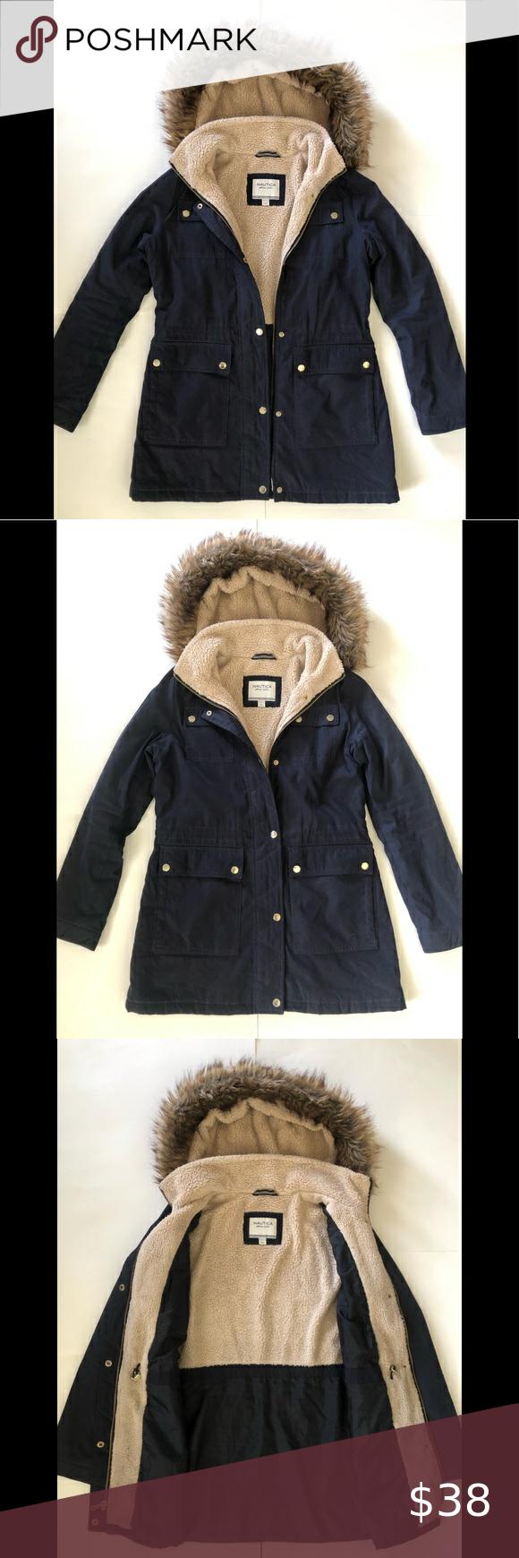 Nautica Women S Jacket Fashion Puffer Jacket Women Coats Jackets Women [ 1740 x 580 Pixel ]