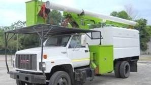 60 Ft Bucket Truck For Sale With Chipper Dump Box 795 Per Month Altec Lrv 60 5 Working Height Bucket Trucks For Sale Bucket Truck Trucks For Sale