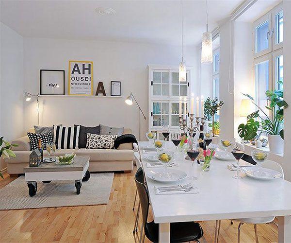 imagenes de decoracion de casas sala comedor nordico DECORACION - decoracion de interiores salas