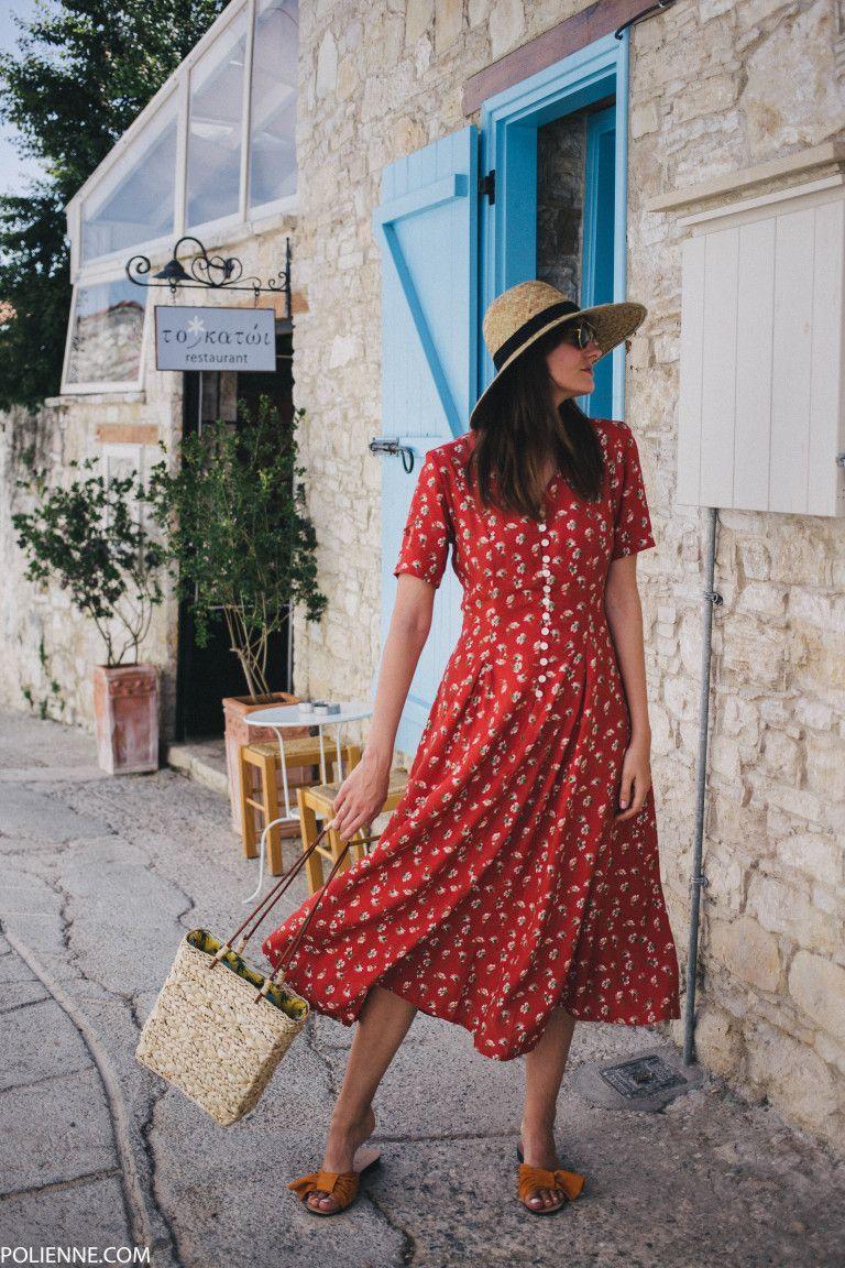 That Vintage Summer Dress Polienne Vintage Summer Dresses Summer Dresses Summer Dress Outfits [ 1152 x 768 Pixel ]