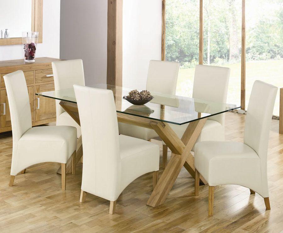 tavolo di vetro e legno | Soggiorno | Pinterest