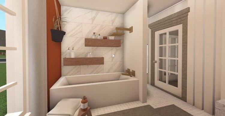 Cute Bathroom Idea Not Mine In 2020 Sims House Design Luxury House Plans Tiny House Layout