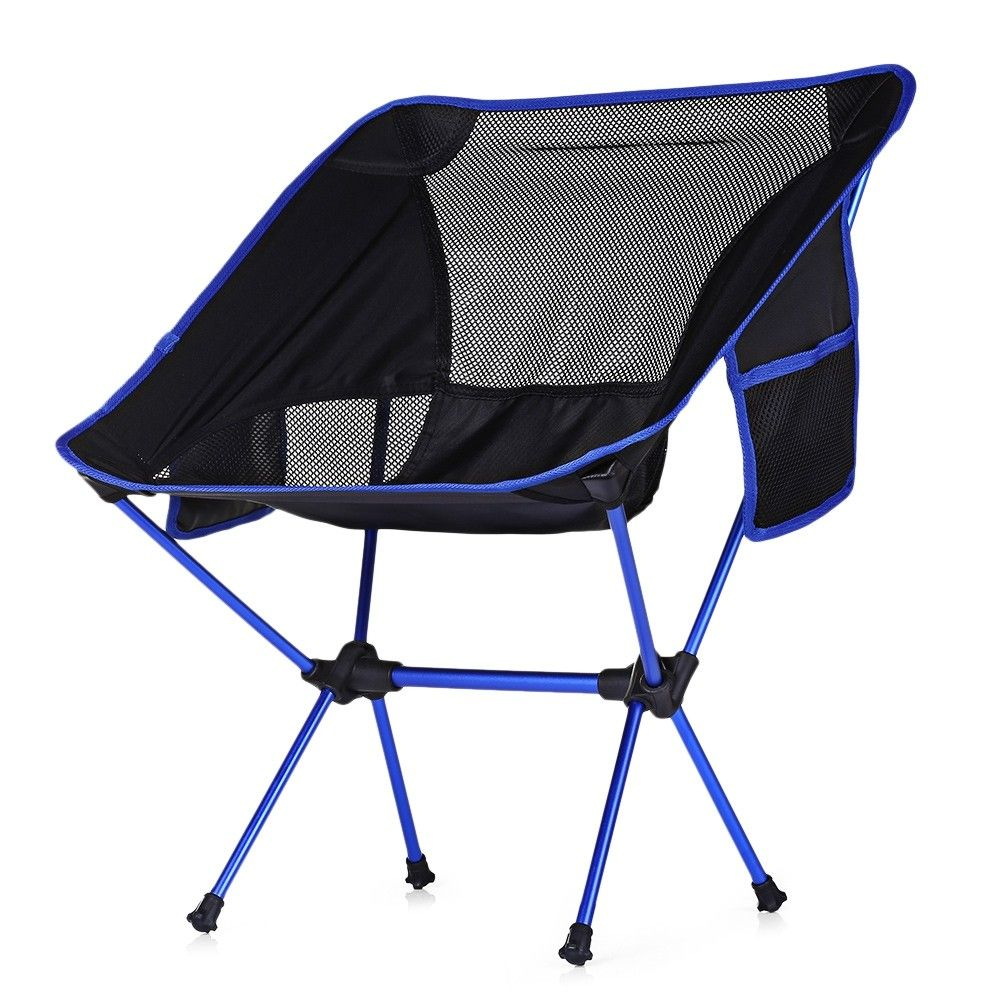 Portable Ultralight Heavy Duty Folding Chair For Outdoor Activities Sky Blue 4n19680012 Portable Camping Chair Camping Chairs Outdoor Chairs