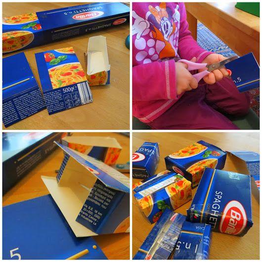 Kaufladen-Verpackungen selber machen