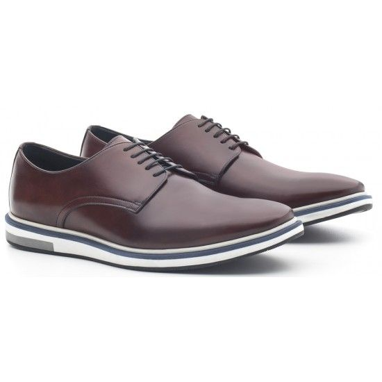 huge selection of 6d9b0 63dbd SAPATO MASCULINO DERBY LORING HAVANA Mais