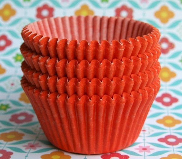 Pin By Linda Christman On My Cupcake Liners With Images Orange