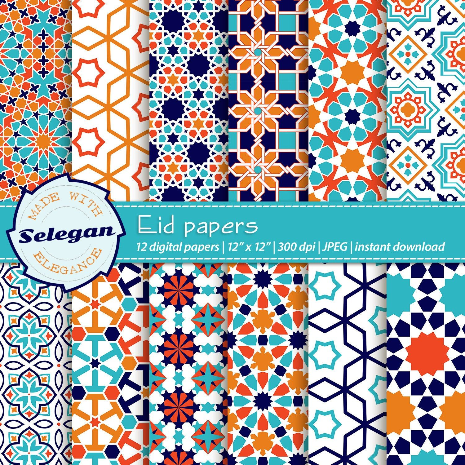 Excited To Share The Latest Addition To My Shop Eid Papers Arabic Pattern Islamic Pattern Ramadan Pa In 2020 Ramadan Background Arabic Pattern Islamic Art Pattern