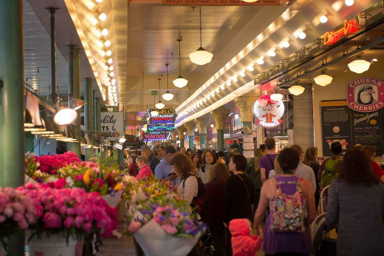 Visitors Guide Pike Place Market Seattle printable