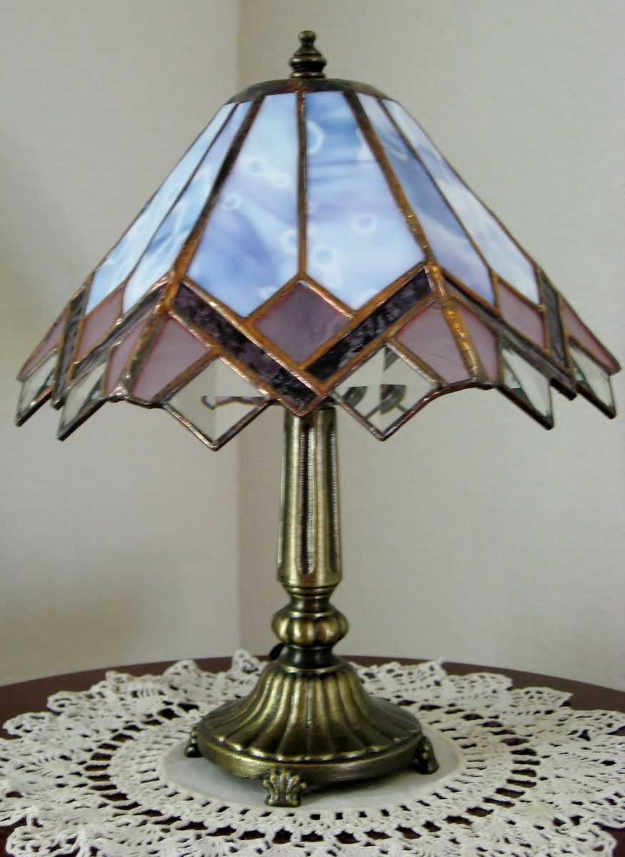 Small Stained Glass Lamp |  /STANED GLASS ...