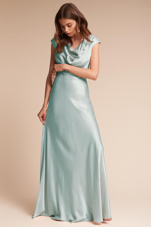 Gloss dress black tie bridal parties and wedding