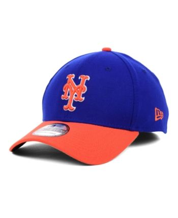 new arrival 012f8 cc6fb New Era New York Mets Mlb Team Classic 39THIRTY Stretch-Fitted Cap - Blue S