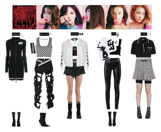 Blackpink Outfit Ideas: RED VELVET - BAD BOY💚💛 ️💙💜💖