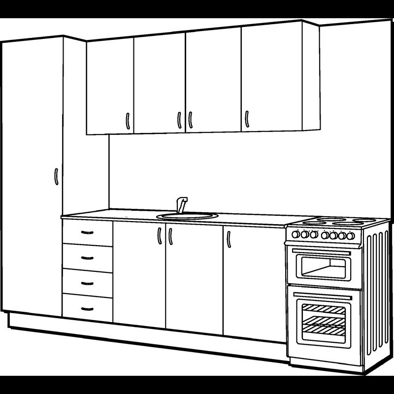 Marquee Straight Line Modular Kitchen Kitchen Pinterest Warehouse Kitchens And Cabin