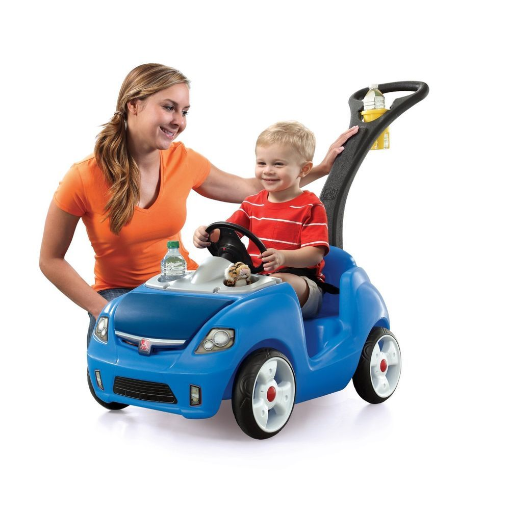 Toys car for child  Step Whisper Ride II Car Stroller  Baby Buggy Kid Toy Push Pull