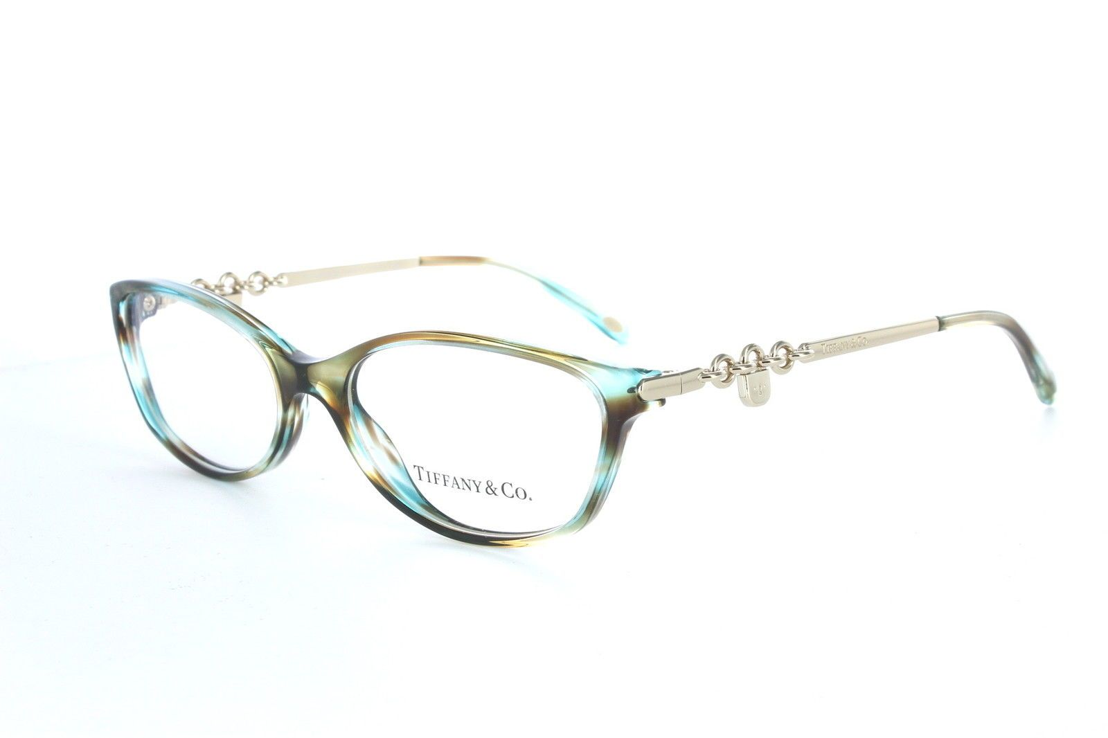 New Tiffany & Co Eyeglasses TF 2063 8124 Ocean Turquoise 52MM Frames ...