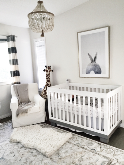 Gender neutral nursery family love pinterest for Simple nursery design