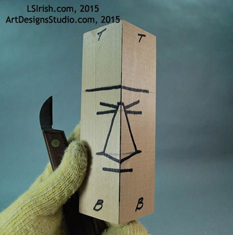 Photo of Wood Spirit Carving, 4 Planes of the Human Face – Classic Carving Patterns