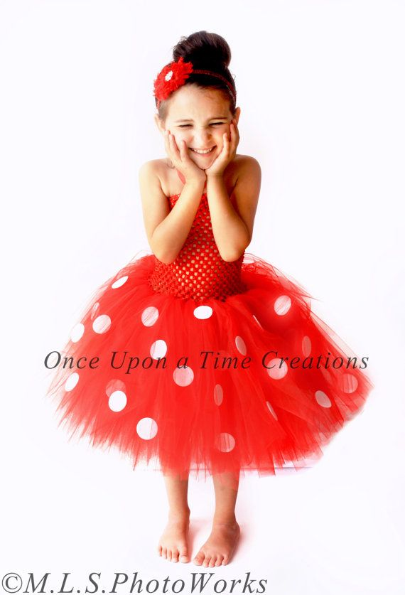 minnie mouse inspired tutu dress birthday outfit halloween costume baby little girls or toddler disney mickey mouse clubhouse inspired - Infant Mickey Mouse Halloween Costume