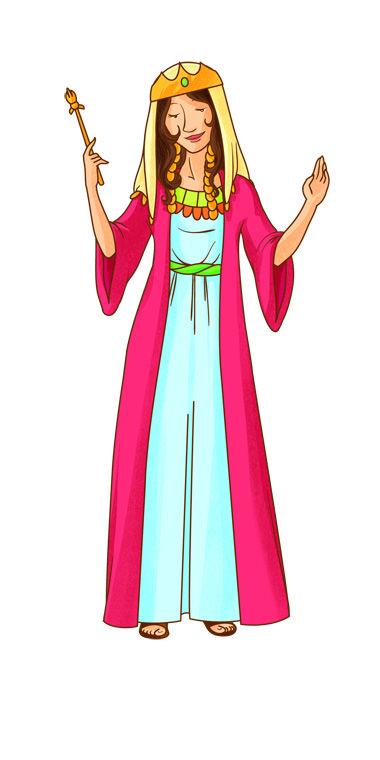 Ester la donna regina raggi di luce scuola franelas - Artigianato per cristiani ...