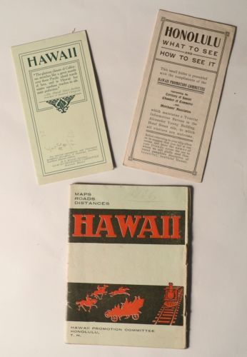 hawaii maps roads distances hawaii promotion committee 1906 map honolulu