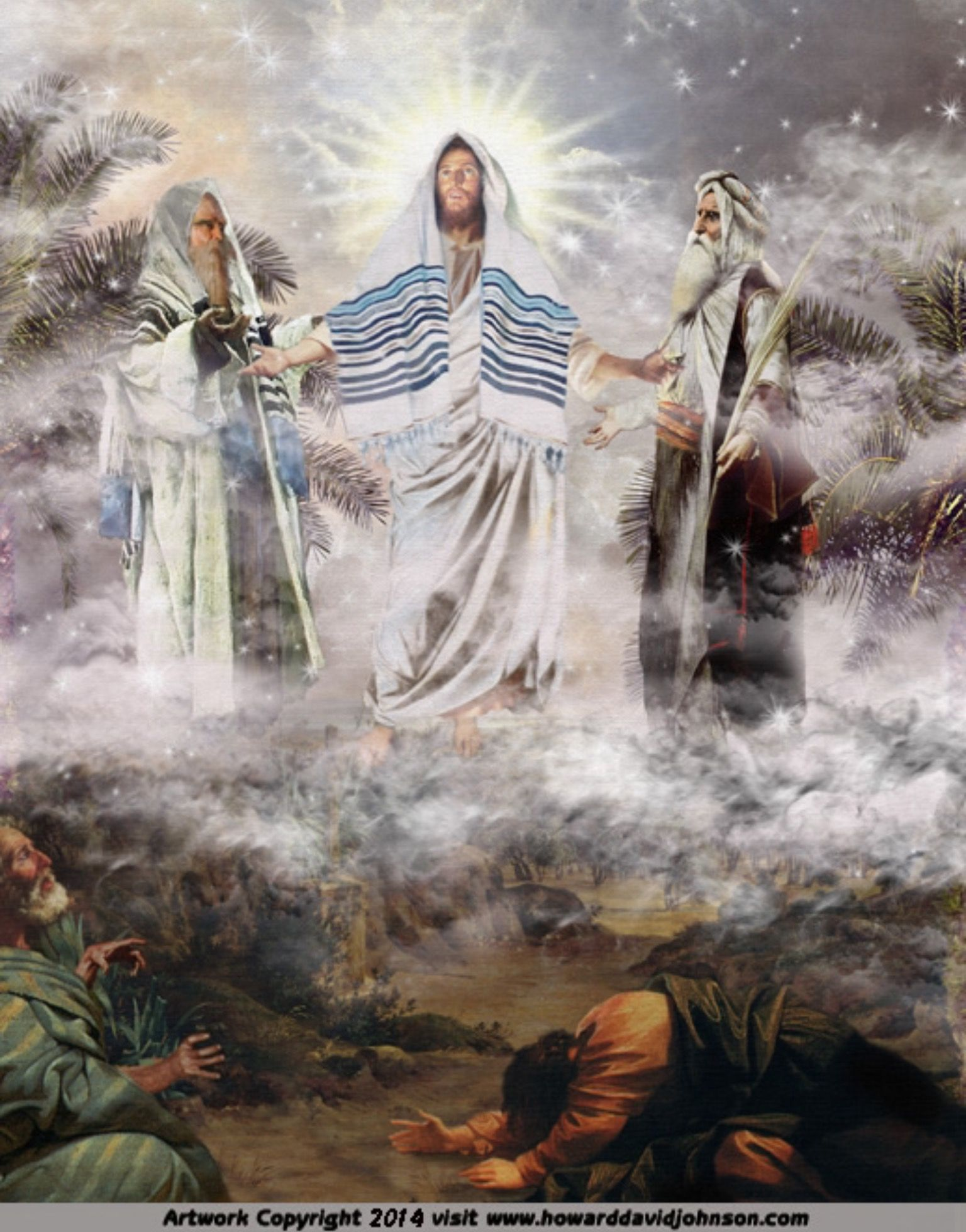 The Transfiguration Of Jesus. Matthew 17:1-3 KJV And after ...