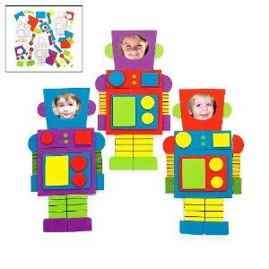 robot frame craft pack for party favors
