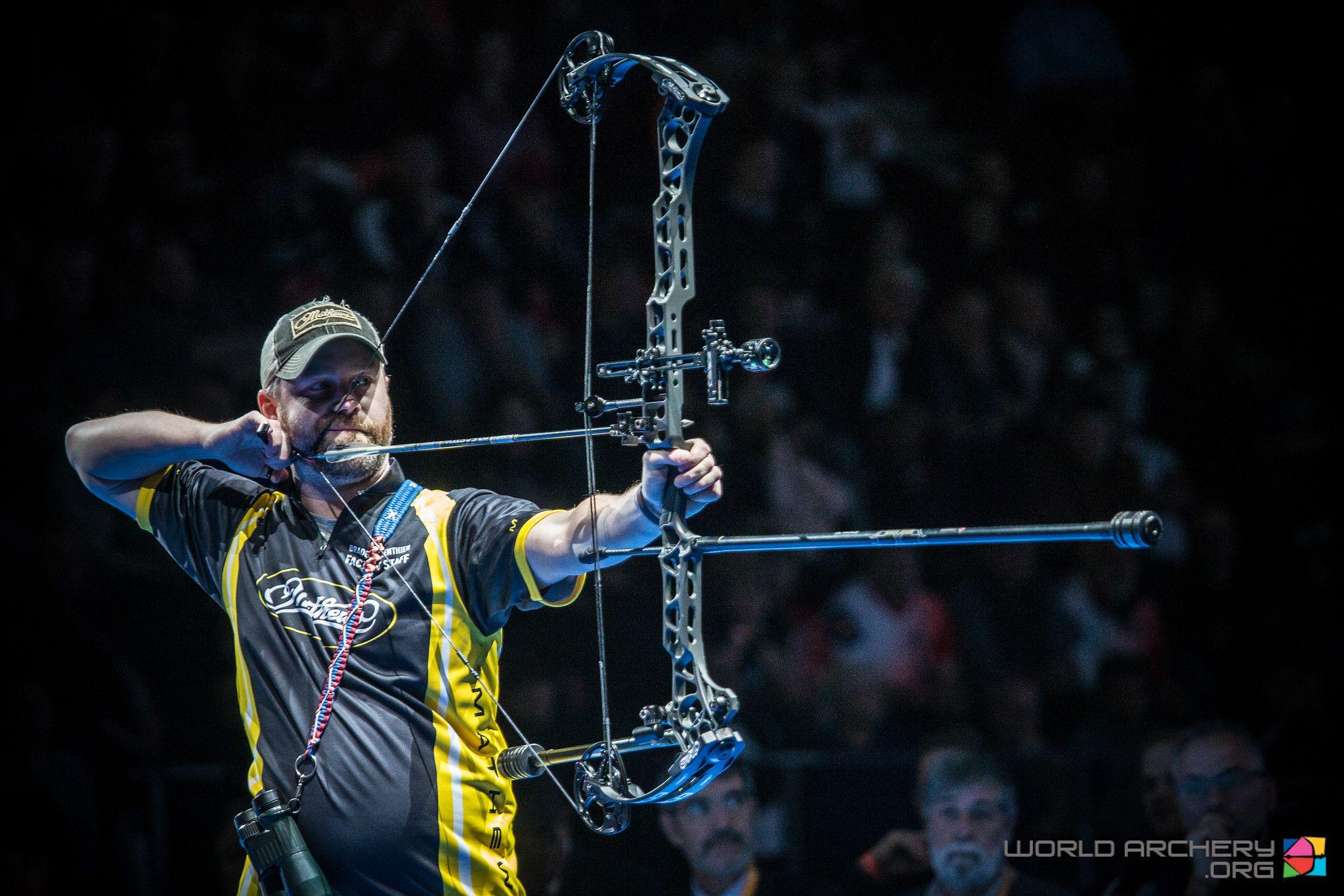 Braden Gellenthien Successfully Defends Compound Men S Title In Nimes Archery Nimes Archery World