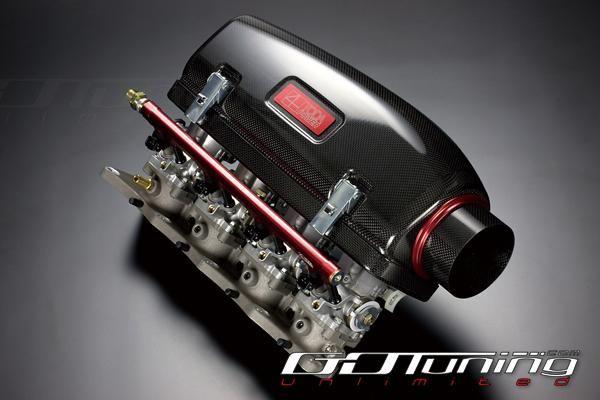 Honda S2000 TODA F20C High Power Surge Tank Dry Carbon