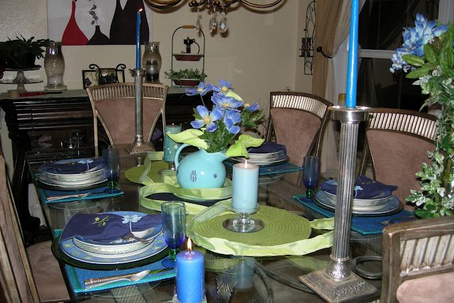 Tablescapes from Thrifty purchases
