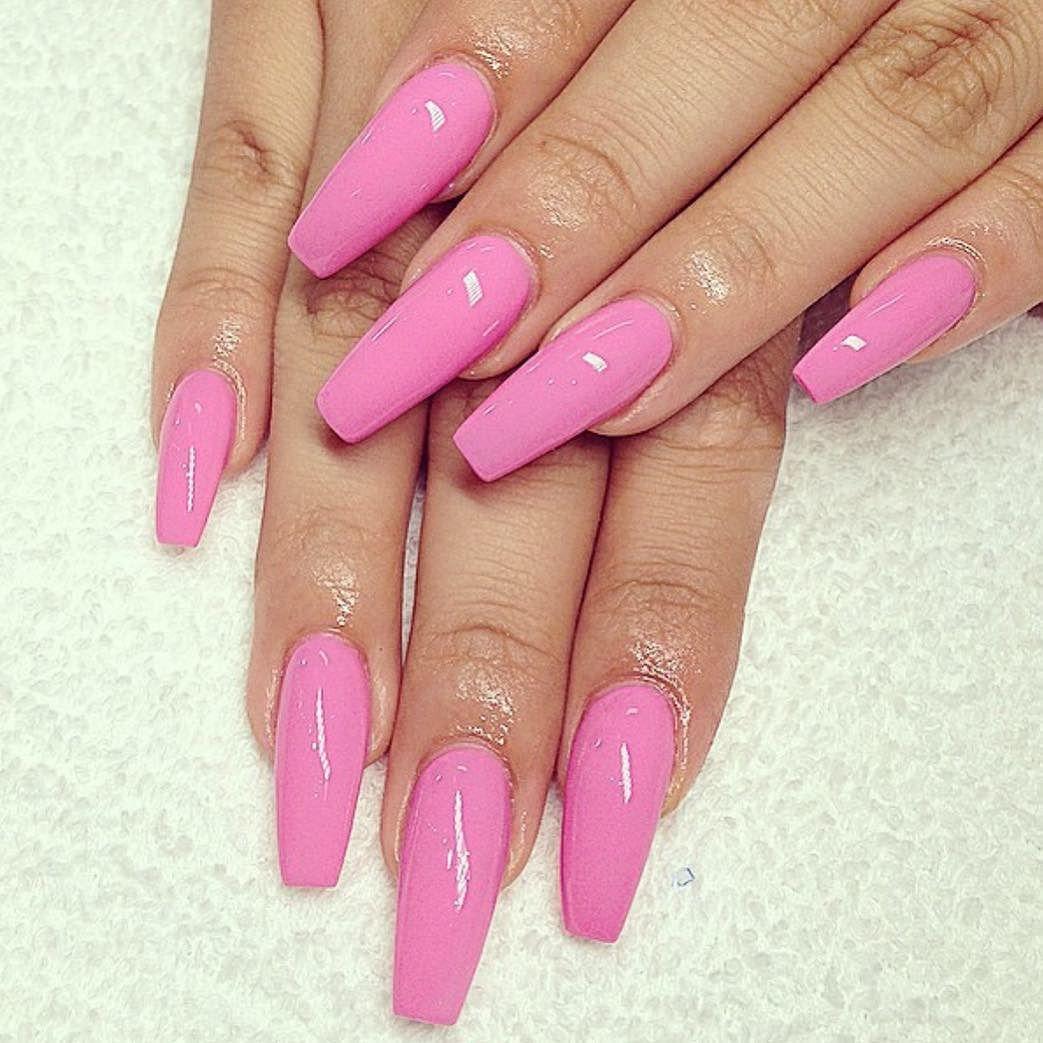 Baby pink ballerina nails. by thenailbarsydney http://ift.tt/1NRMbNv ...