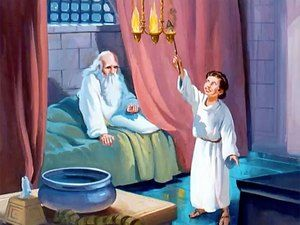 As Time Went By Samuel Was Able To Assume Some Important Temple Duties To Help Eli He Opened And Closed The Doors Bible Illustrations Samuel Bible Bible Quiz