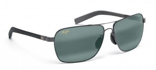 Freight Trains - Maui Jim - Gloss Black/Grey 32602
