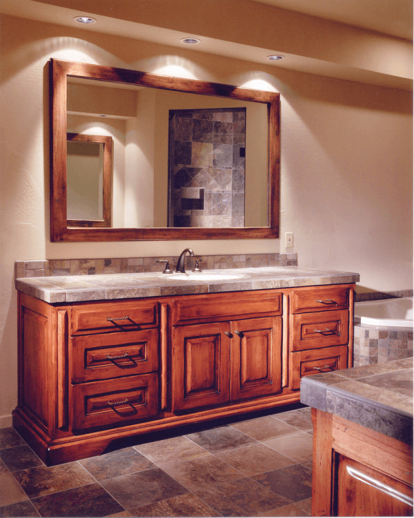 Design Idea For Custom Bathroom Vanities Without Tops