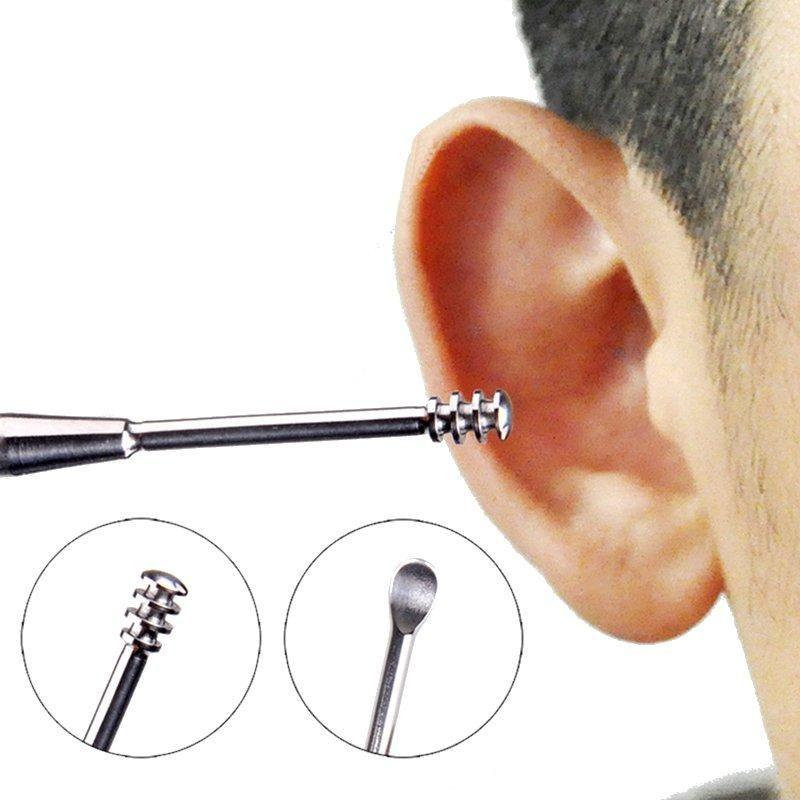 [US1.99] Profession Stainless Steel Earpick Earwax