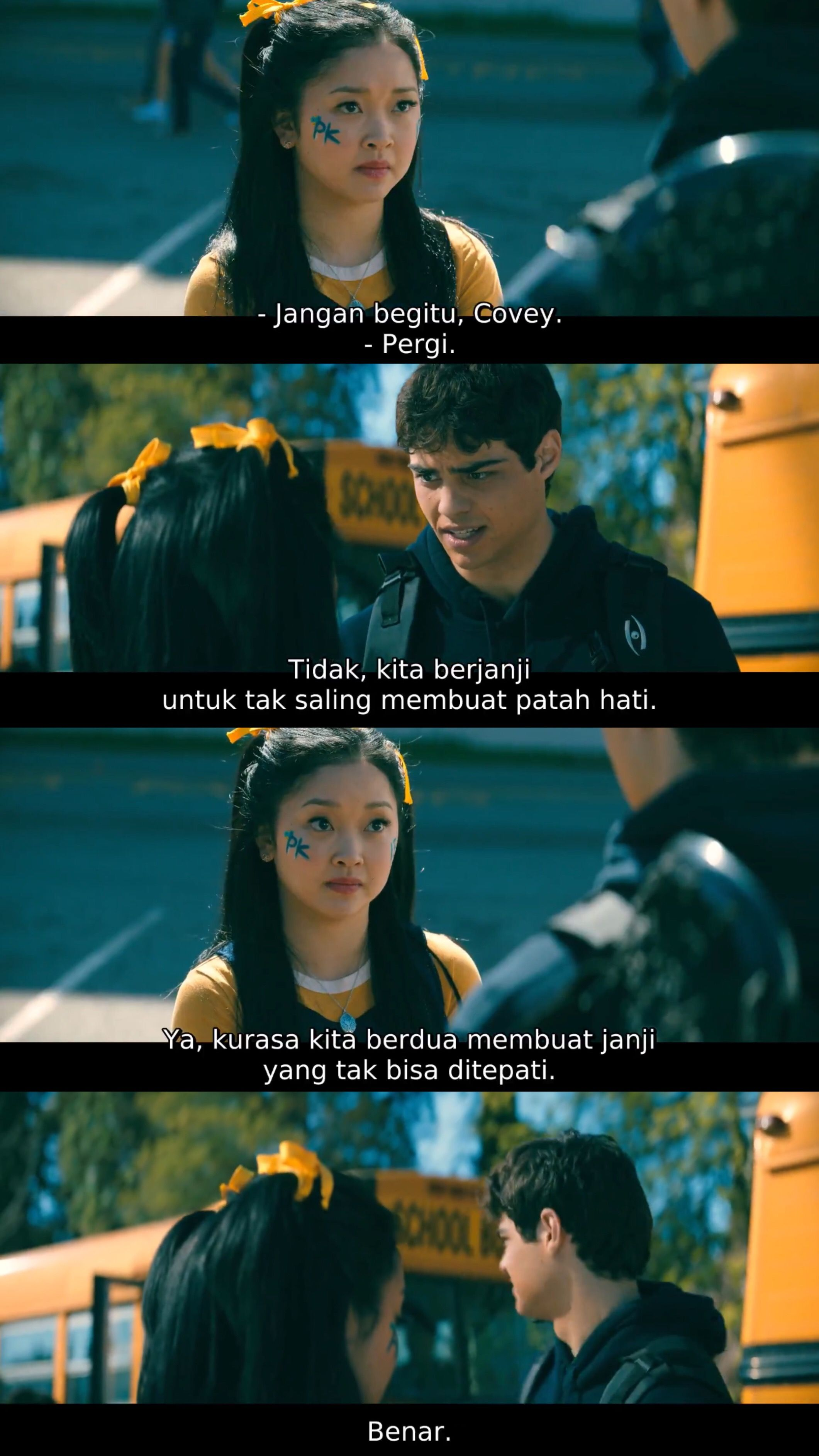 To All The Boys P S I Still Love You Quotes Patah Hati Bepergian