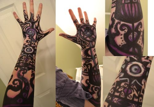 Henna Tattoo Tutorial : Cosplay tattoos tattoo designs and google