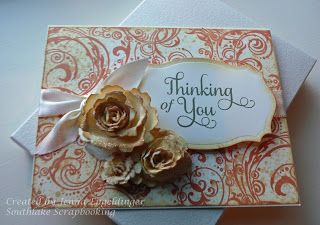 Southlake Scrapbooking: Impression Obsession stamps are Flourish and Spatter
