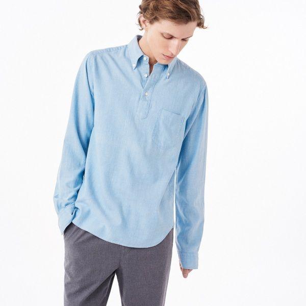 Light Indigo Pullover Shirt | Gant | Pinterest