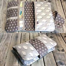 windeltasche wolken sterne bl mchen wickeltasche unikat geschenk baby n hen pinterest. Black Bedroom Furniture Sets. Home Design Ideas
