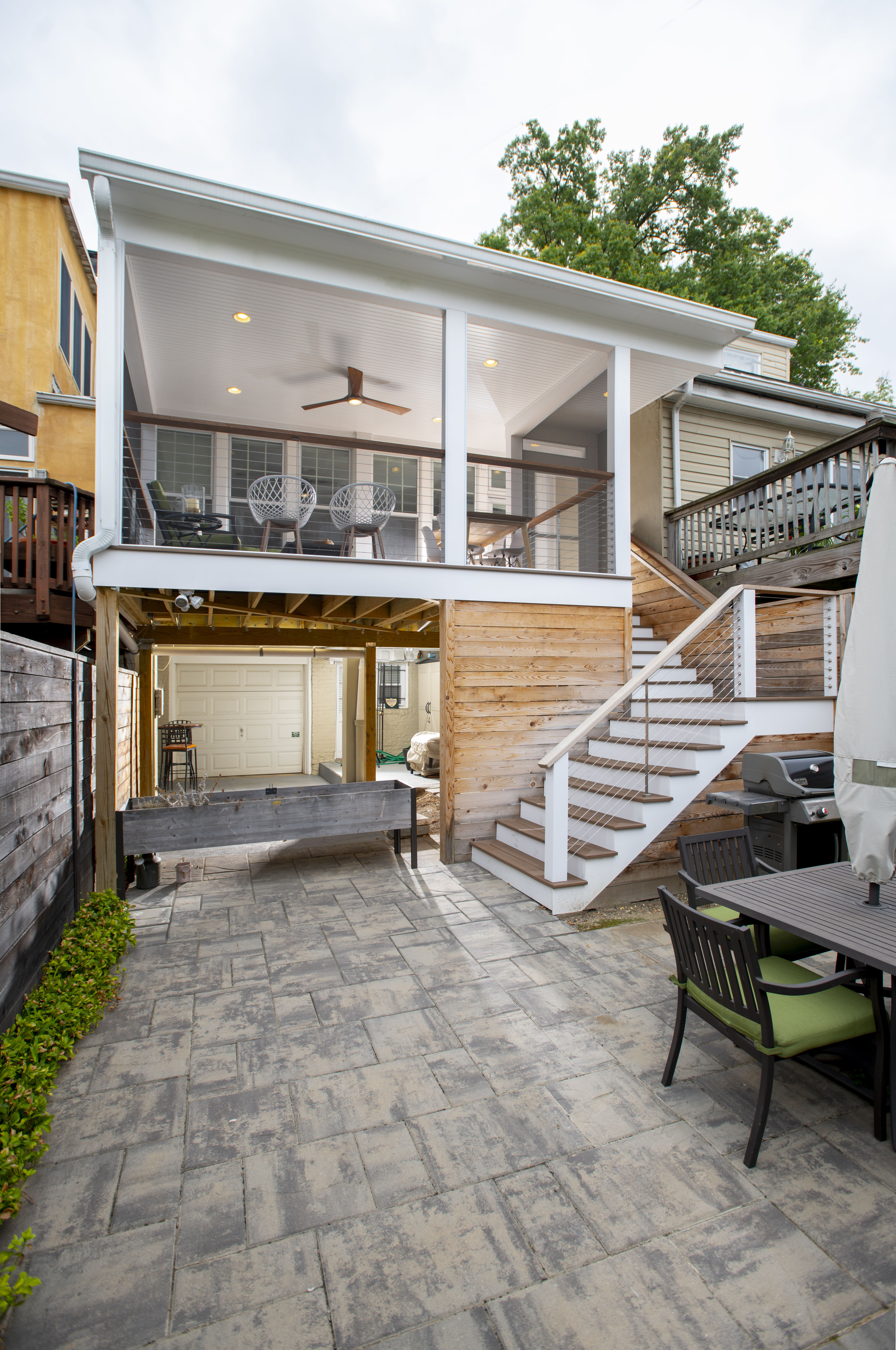 Steel Cable Deck Railings. So..whats the deal ? | Cable ...