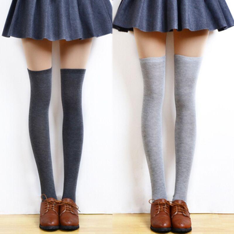 467b3e2520c 3Pairs Women s Long Stockings Girls Fashion Sexy Over Knee Elastic Thigh  High Stockings Female Autumn Winter Warm Stockings  Affiliate