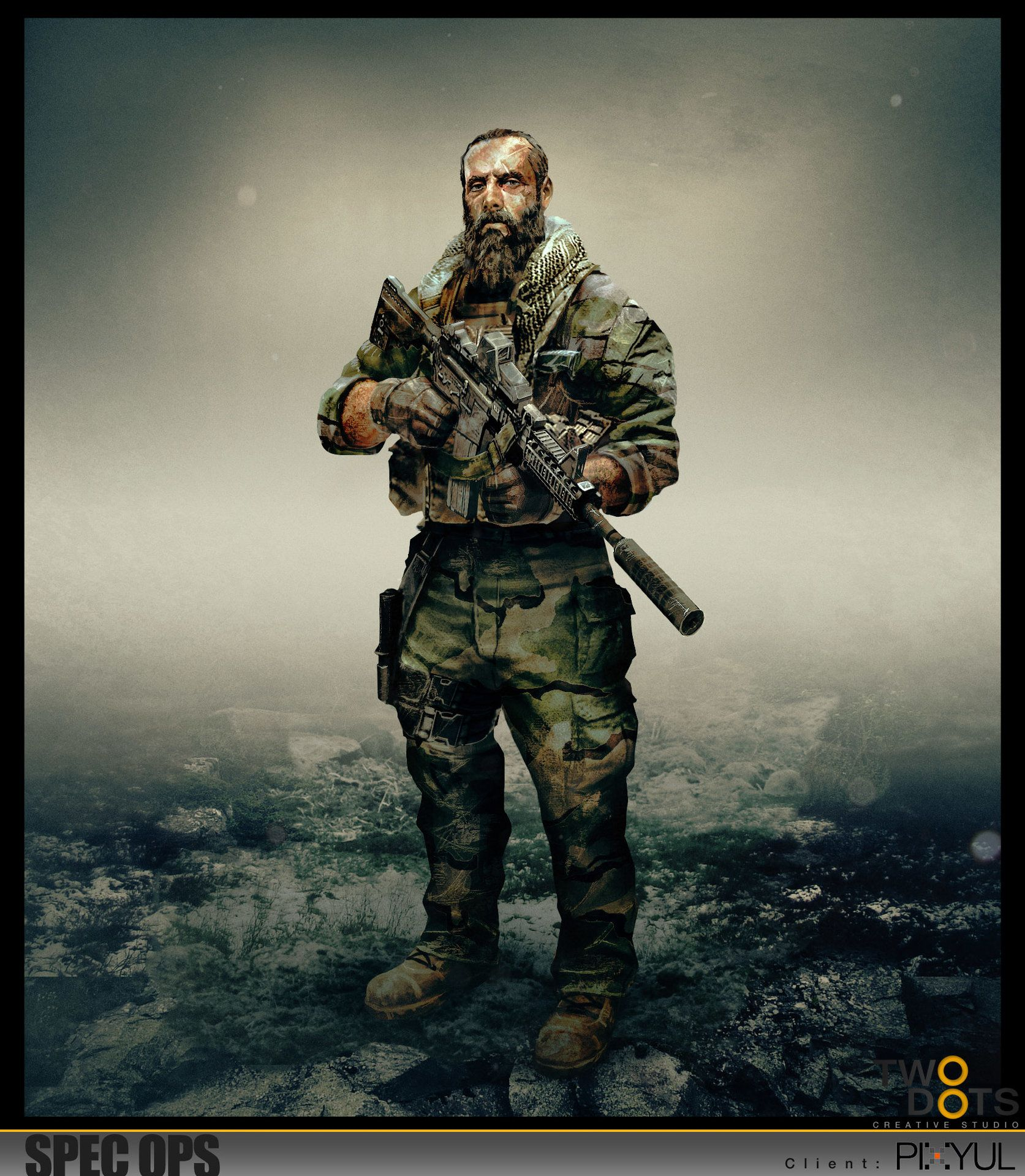Apocalyptic Soldier Pics: ArtStation - REROLL, Xavier Thomas