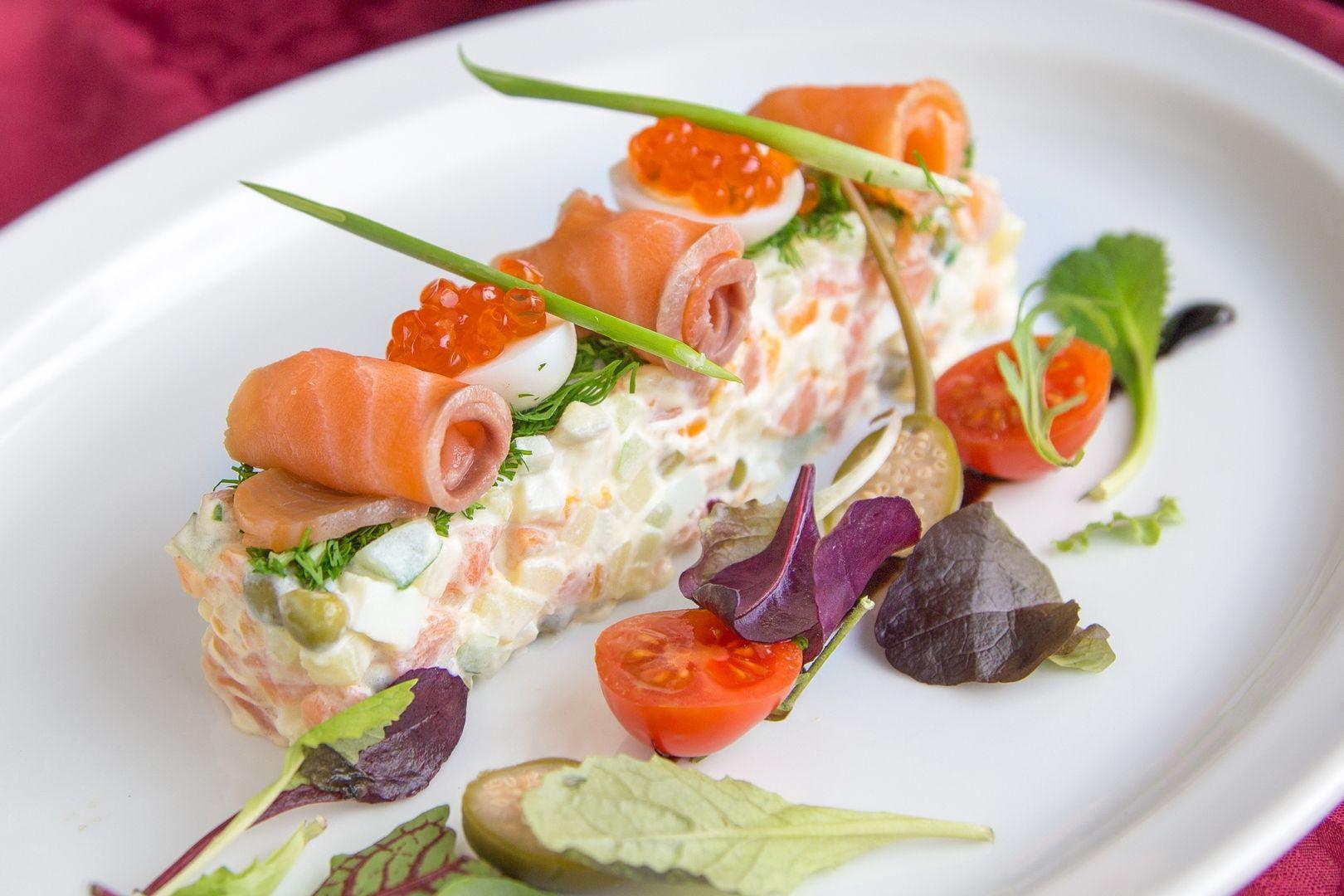 известные картинки салат оливье в ресторане может, уходит