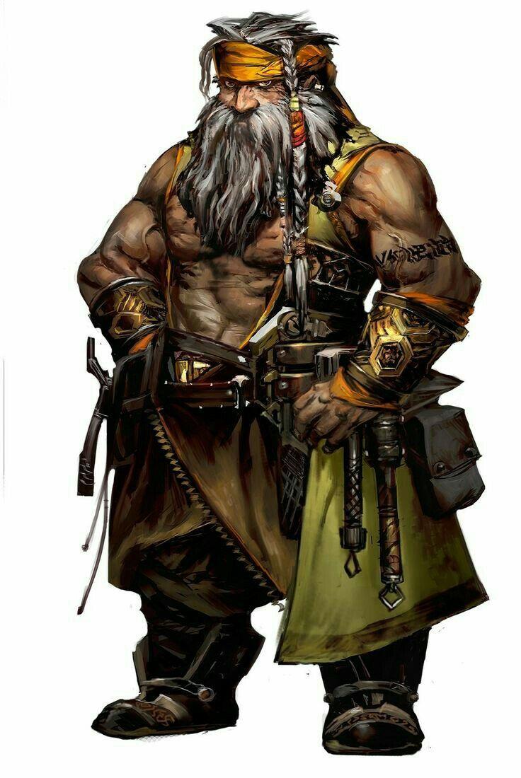 Character Design Dnd : Dwarf brawler pathfinder pfrpg dnd d fantasy