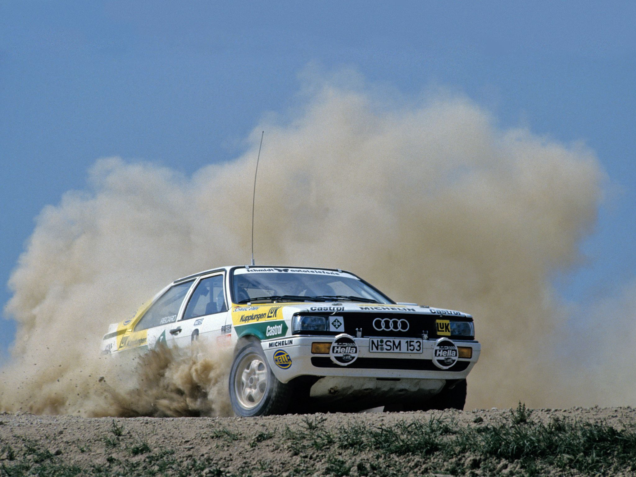 1985 88 audi coupe quattro rally car 81 85 nice rides. Black Bedroom Furniture Sets. Home Design Ideas